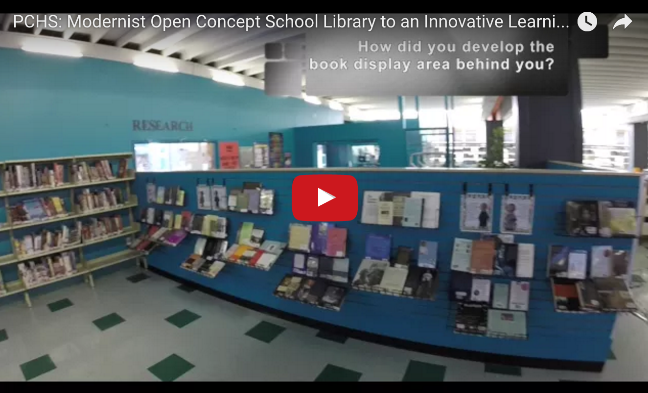 New Qslin Hangout: Pchs: Modernist Open Concept School Library To An  Innovative Learningmons €� Qslin